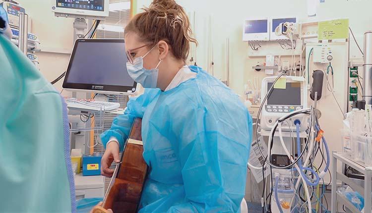 Muziektherapie op de NICU